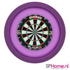 S4D Dartbord Verlichting XXL One Color Paars