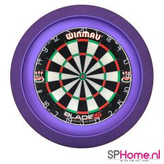 S4D Dartbord Verlichting STD One Color Paars
